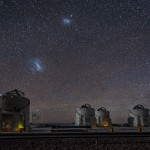 Auxiliary telescopes beneath the Magellanic Clouds