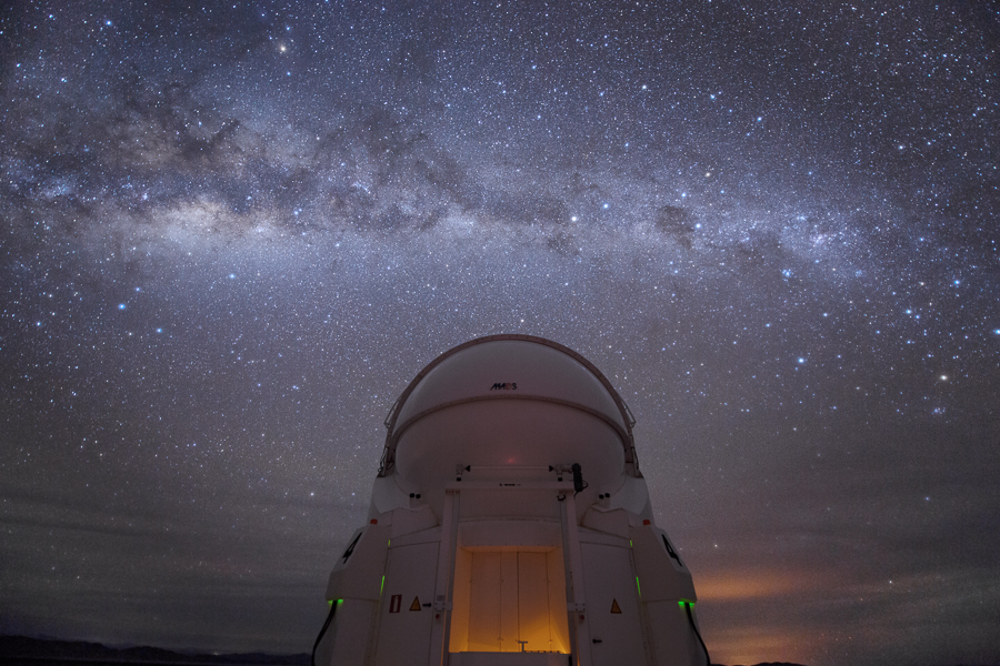 VLT Auxiliary telescope and the Milky Way