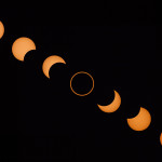 Solar eclipse sequence - May 20, 2012